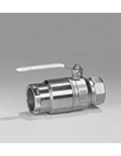 Manual valves with thermal...