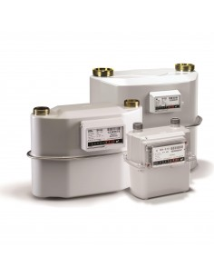 G10 gas meter with thermowells