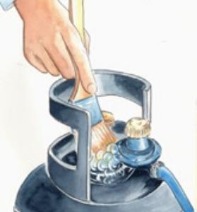Come sostituire una bombola di gpl
