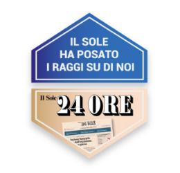 """Il prestigioso quotidiano italiano """"Il Sole 24 ore"""" parla di noi!"""