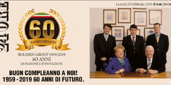 """BUON 60° COMPLEANNO A NOI """"1959-2019"""""""