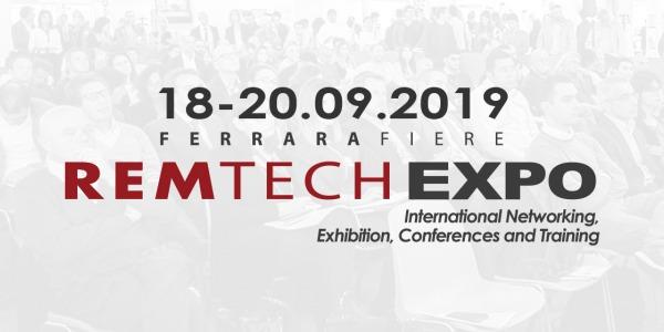 REMTECH EXPO Ferrara 2019